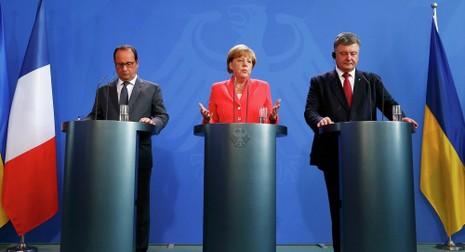 Đức, Pháp phản đối kiểu chơi '3 chọi 1' của Ukraine để chống Nga - ảnh 1