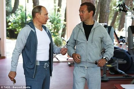 Tiết lộ giá bộ đồ tập gym của Tổng thống Putin - ảnh 1