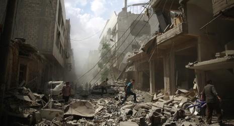'Khủng hoảng Syria không thể chấm dứt nếu vắng ông Putin' - ảnh 1