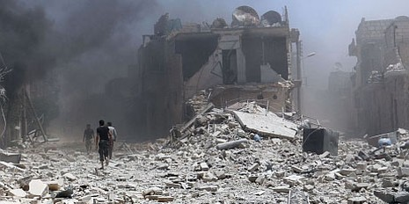 Syria tấn công IS: Ít nhất 26 người chết  - ảnh 1