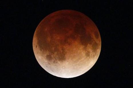 'Siêu mặt trăng máu' xuất hiện vào Chủ nhật này - ảnh 1