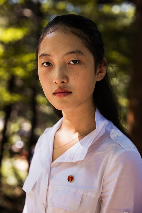 Bộ ảnh: Vẻ đẹp mộc mạc của những cô gái Triều Tiên - ảnh 2