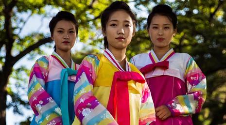 Bộ ảnh: Vẻ đẹp mộc mạc của những cô gái Triều Tiên - ảnh 9