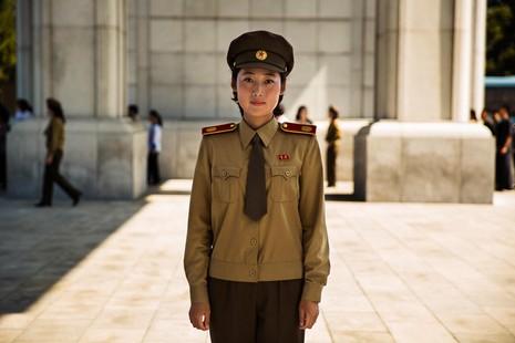Bộ ảnh: Vẻ đẹp mộc mạc của những cô gái Triều Tiên - ảnh 10