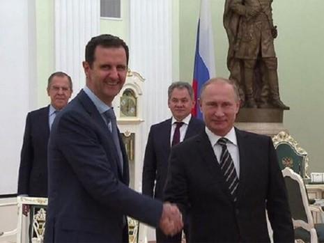 Tổng thống Syria bàn cách chống IS với Tổng thống Putin - ảnh 1