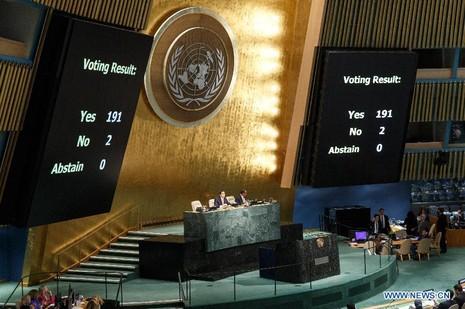 191 quốc gia kêu gọi dỡ bỏ cấm vận Cuba, Mỹ từ chối - ảnh 1