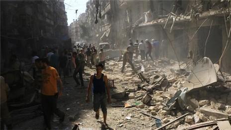 Phát hiện các tay súng tại Syria sử dụng khí mù tạt chết người - ảnh 1