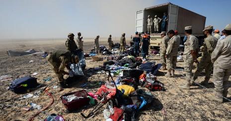 FBI giúp Nga điều tra vụ máy bay chở 224 người rơi tại Ai Cập - ảnh 1