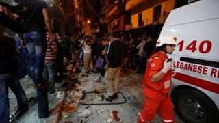 Đánh bom liều chết kinh hoàng ở thủ đô Li-băng - ảnh 1