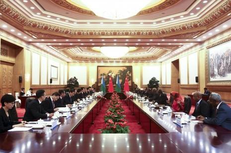 Trung Quốc xây căn cứ quân sự đầu tiên tại châu Phi - ảnh 2