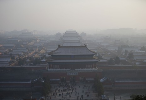 Sương mù ô nhiễm tại Trung Quốc lên mức kỷ lục của năm  - ảnh 2