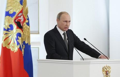 Tổng thống Putin chuẩn bị phát biểu thông điệp liên bang - ảnh 1