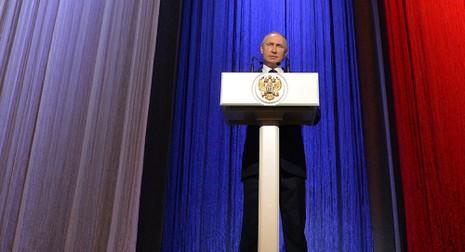 Ông Putin: 'Nga chưa tung hết thực lực ở Syria' - ảnh 1