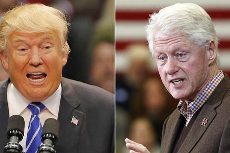 Donald Trump nói Hillary Clinton 'cưới phải một kẻ thô bạo' - ảnh 1