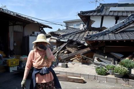 Nhật: Lại động đất lớn làm 26 người chết, hàng ngàn người bị thương - ảnh 1