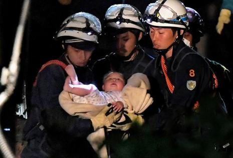 Nhật: Lại động đất lớn làm 26 người chết, hàng ngàn người bị thương - ảnh 3