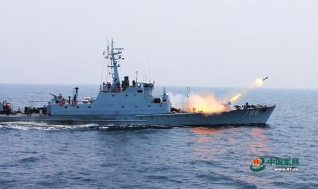 Trung Quốc tập trận bằng phương pháp mới ở biển Đông - ảnh 1