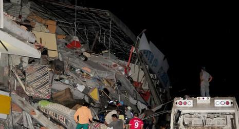Ecuador dốc sức phục hồi đất nước sau trận động đất kinh hoàng - ảnh 1