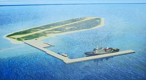 Tàu chiến Đài Loan ngang nhiên đến đảo Ba Bình - ảnh 1