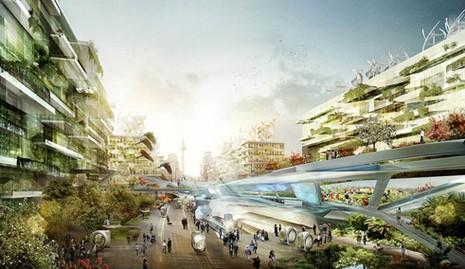 Thế giới đô thị mới xinh đẹp – Tầm nhìn đến thành phố tương lai;