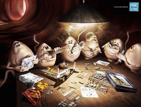 Cười sảng khoái với hình ảnh quảng cáo bao cao su - ảnh 2