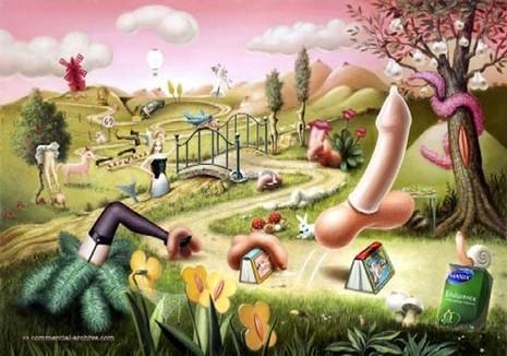 Cười sảng khoái với hình ảnh quảng cáo bao cao su - ảnh 5