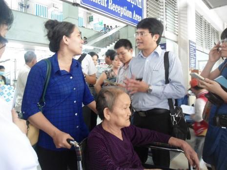 Bộ Y tế kiểm tra đột xuất nhiều bệnh viện ở TP.HCM - ảnh 4