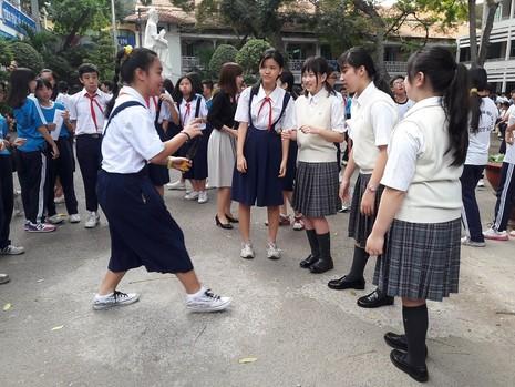 Học sinh Nhật qua Việt Nam để được... ngủ trưa - ảnh 3