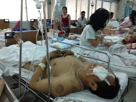 BV Chợ Rẫy: Nhập viện vì TNGT tăng mạnh dịp nghỉ lễ - ảnh 1