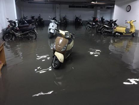 TP.HCM: Mưa lớn kéo dài, kẹt xe khắp nơi không thấy đường về - ảnh 31