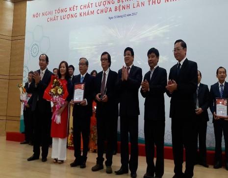 quy trình báo động đỏ của BV Nhi đồng 1 được trao giải nhất