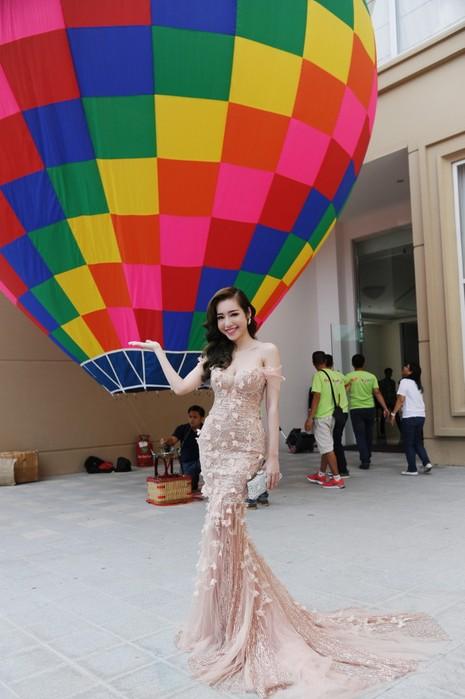 Elly Trần làm đại sứ ngày hội khinh khí cầu - ảnh 1
