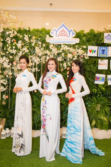 Ngắm người đẹp 'Hoa hậu Biển Việt Nam 2016'   - ảnh 10