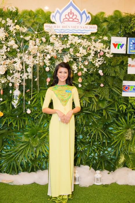 Ngắm người đẹp 'Hoa hậu Biển Việt Nam 2016'   - ảnh 9