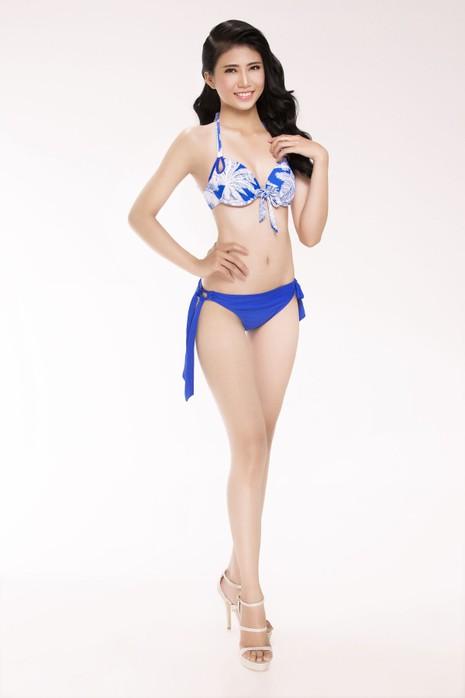 Ngắm thí sinh 'Hoa hậu Việt Nam 2016' qua trang phục bikini - ảnh 12