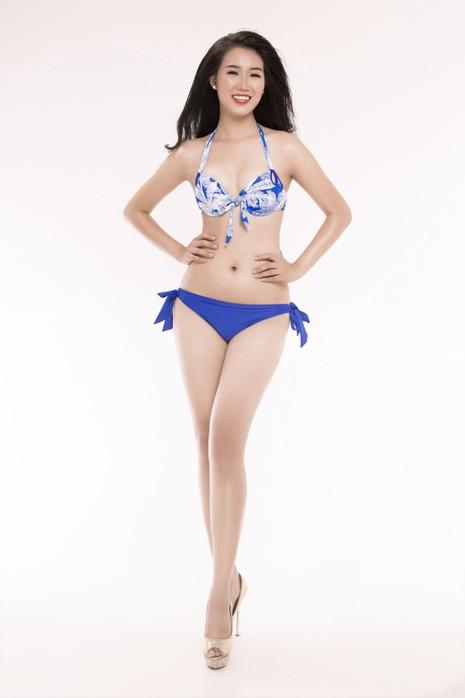 Ngắm thí sinh 'Hoa hậu Việt Nam 2016' qua trang phục bikini - ảnh 14