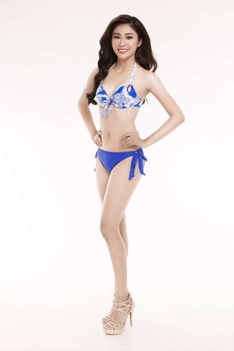 Ngắm thí sinh 'Hoa hậu Việt Nam 2016' qua trang phục bikini - ảnh 15