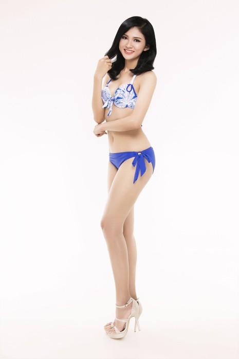 Ngắm thí sinh 'Hoa hậu Việt Nam 2016' qua trang phục bikini - ảnh 17