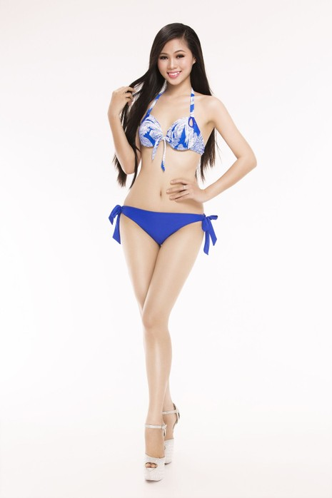 Ngắm thí sinh 'Hoa hậu Việt Nam 2016' qua trang phục bikini - ảnh 19