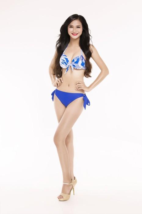 Ngắm thí sinh 'Hoa hậu Việt Nam 2016' qua trang phục bikini - ảnh 22