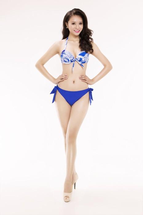 Ngắm thí sinh 'Hoa hậu Việt Nam 2016' qua trang phục bikini - ảnh 23