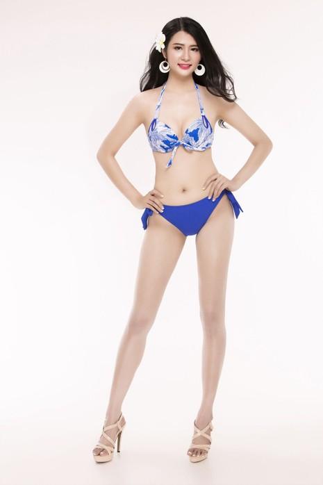 Ngắm thí sinh 'Hoa hậu Việt Nam 2016' qua trang phục bikini - ảnh 28