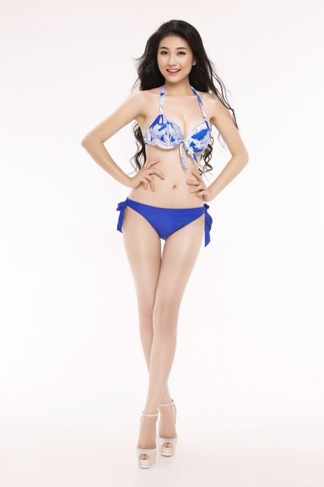 Ngắm thí sinh 'Hoa hậu Việt Nam 2016' qua trang phục bikini - ảnh 29