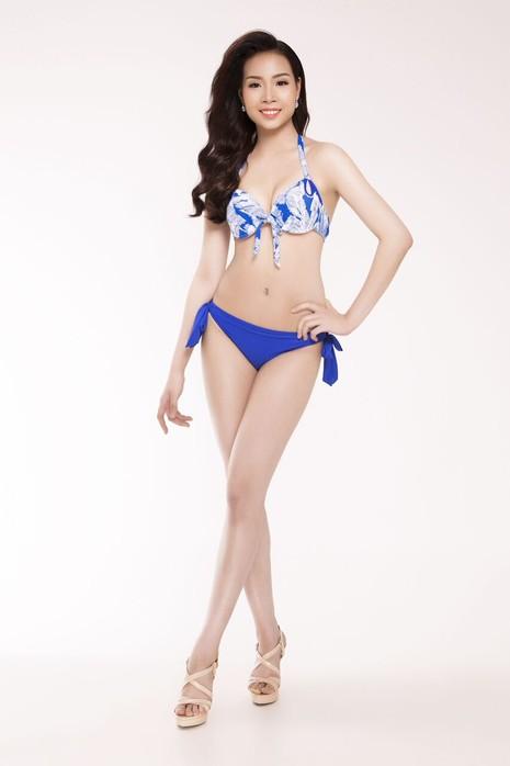 Ngắm thí sinh 'Hoa hậu Việt Nam 2016' qua trang phục bikini - ảnh 5