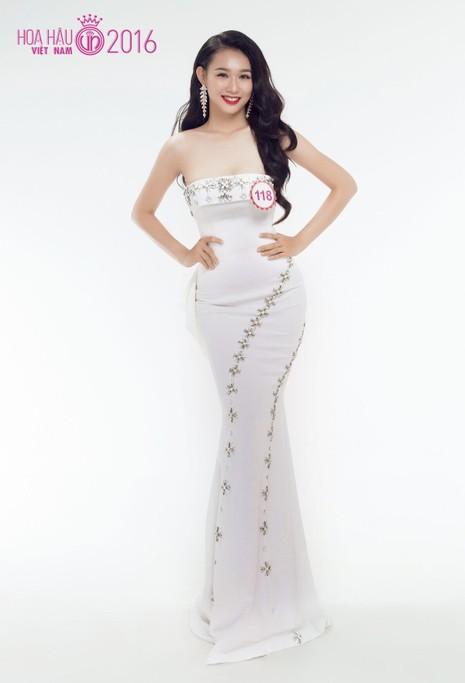 Thí sinh 'Hoa hậu VN 2016' lộng lẫy khoe áo dạ hội - ảnh 20