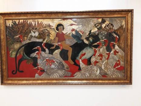Góc nhìn trái ngược trong triển lãm tranh người và thú - ảnh 7