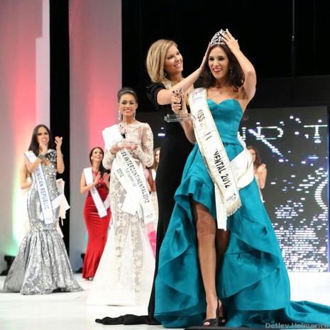 Hoa hậu Liên lục địa làm giám khảo Mrs. Globe Việt Nam - ảnh 1