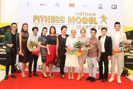 Sao tụ hội ở cuộc thi 'Người mẫu thể hình Việt Nam' - ảnh 3