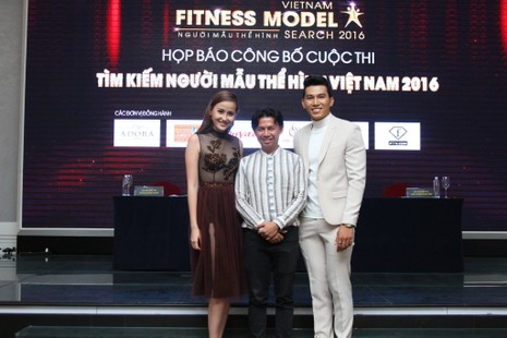Sao tụ hội ở cuộc thi 'Người mẫu thể hình Việt Nam' - ảnh 4