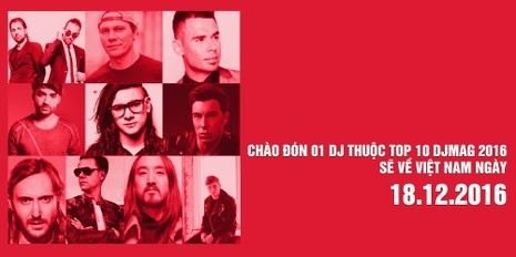 Lễ hội âm nhạc top 10 DJ thế giới và sao Việt   - ảnh 1